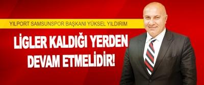 Yılport Samsunspor Başkanı Yüksel Yıldırım