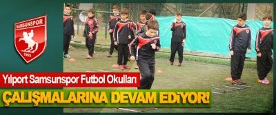 Yılport Samsunspor Futbol Okulları çalışmalarına devam ediyor!