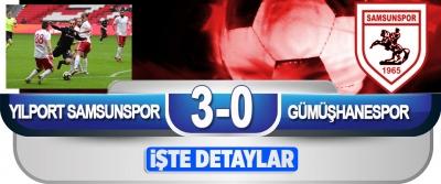 Yılport Samsunspor - Gümüşhanespor: 3-0
