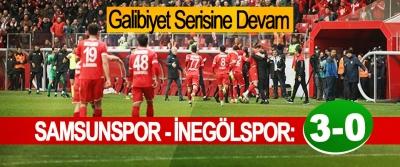 Yılport Samsunspor - İnegölspor: 3 – 0