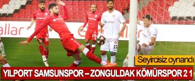 Yılport Samsunspor – Zonguldak Kömürspor 2 1