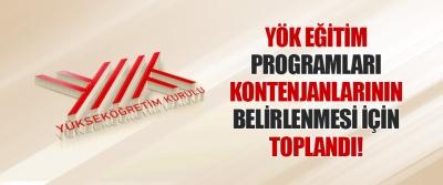 YÖK Eğitim Programları Kontenjanlarının Belirlenmesi İçin Toplandı!