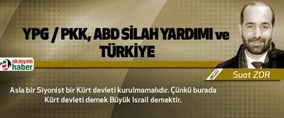 Ypg / Pkk, Abd Silah Yardımı Ve Türkiye