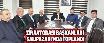 Ziraat Odası Başkanları Salıpazarı'nda Toplandı
