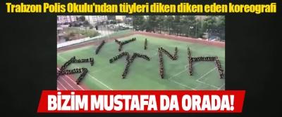 Trabzon Polis Okulu'ndan tüyleri diken diken eden koreografi